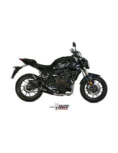 Escape completo Yamaha MT-07 2014-2019 Mivv Delta Race Acero inox Black Y.044.LDRB