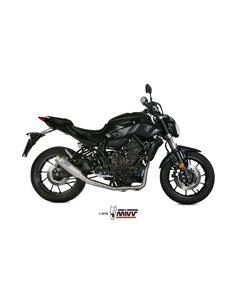 Escape completo Yamaha MT-07 2014-2019 Mivv GP PRO Titanio Y.045.L6P