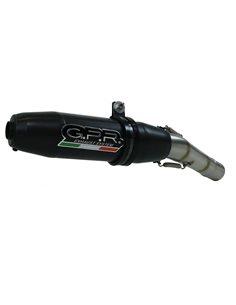 Escape Yamaha WR 125 X 2009-2014 GPR Deeptone Inox Negro Y.186.DENE