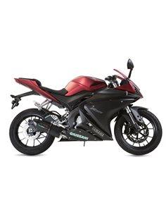 Escapes Yamaha YZF-R 125 i.e. 2014-2016 GPR Furore Negro Y.167.FUNE