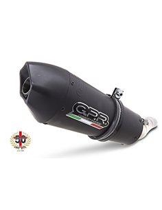 Escape Yamaha XJR 1300 2007-2014 GPR GPE Aniversario Titanio Negro Y.84.GPAN.BLT