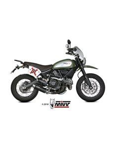 Escape Ducati Scrambler 800 2015-2019 Mivv GP Pro Acero inox Negro D.035.LXBP