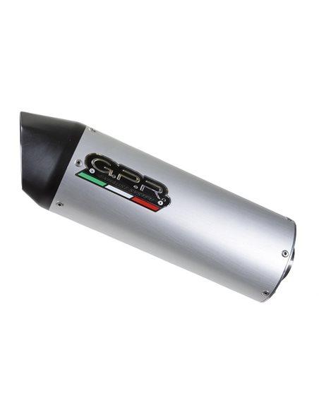 Escape Kymco Agility 125 R12 2007-2013 GPR Furore Aluminio SC.CAT.188.FUAO