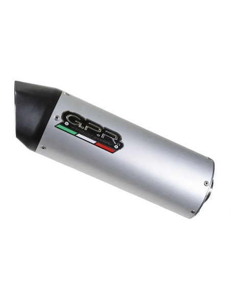 Escape Kymco Agility 150 R12 2007-2013 GPR Furore Aluminio SCOM.189.FUAO