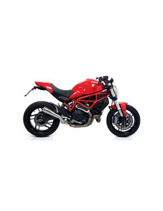 Escape Ducati Monster 797 2017-2018 Arrow Pro-Race Nichrom 71876PRI
