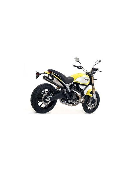 Escape Ducati Scrambler 1100 2018-2019 Arrow Pro-Race Nichrom 71884PRI
