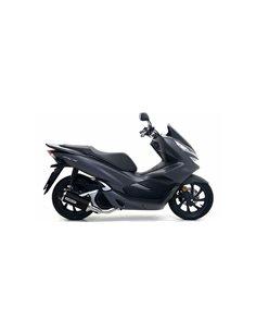 Escape Honda PCX 125 2018-2019 Arrow Urban Aluminio Dark 53529ANN
