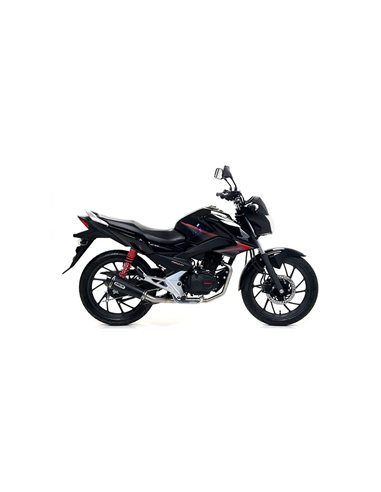 Escape Honda CB125F 2017-2019 Arrow X-Kone Nichrom Dark 51517XKN
