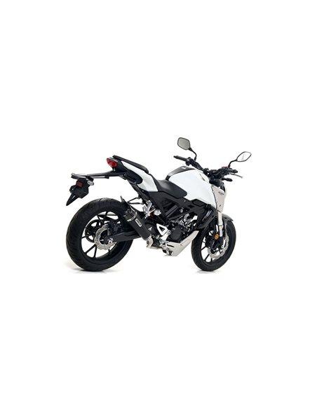 Escape Honda CB 125 R 2018-2019 Arrow X-Kone Nichrom Dark 51516XKN