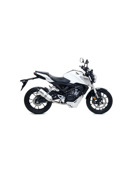 Escape Honda CB 125 R 2018-2019 Arrow Thunder Aluminio 51516AK