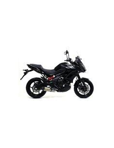 Escape Kawasaki Versys 650 Ninja 650 2017-2019 Z650 2017-2020 Arrow Race-Tech Titanio 71854PK