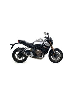 Escape Honda CB650R CBR650R 2019-2020 Arrow Thunder Aluminio Dark 71892AKN