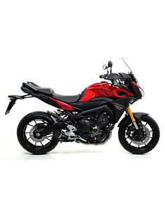 Escape Yamaha MT-09 2013-2019 Tracer 900 2015-2019 Tracer 900 GT 2018-2019 Arrow Street Thunder Aluminio Dark 71812AKN
