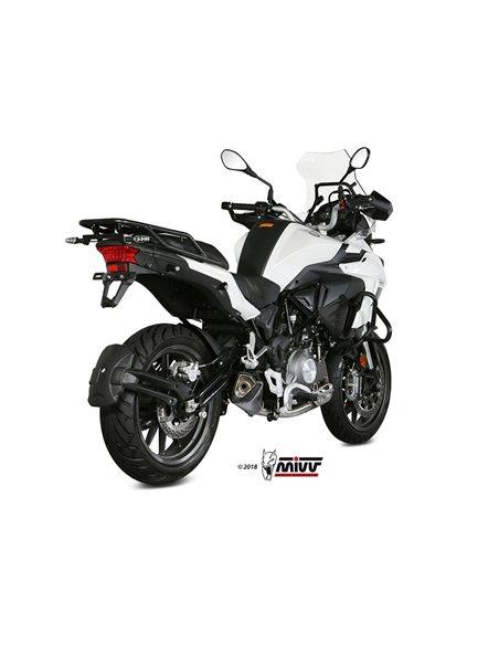 Escape Benelli TRK 502 2017-2019 Mivv Delta Race Acero Inox E.003.LDRX