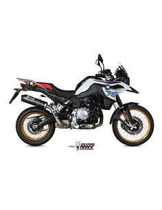 Escape BMW F 750 GS y F 850 GS 2018 Mivv Oval Carbono B.033.L3C