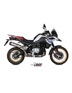 Escape BMW F 750 GS y F 850 GS 2018 Mivv Oval Titanio B.033.L4C