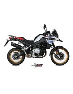 Escape BMW F 750 GS y F 850 GS 2018 Mivv Suono Inox Black B.033.L9