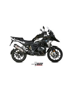 Escape BMW R 1250 GS 2018-2019 Mivv Oval Titanio B.034.LNC