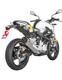 Escape BMW G 310 R/GS 2017-2019 Akrapovic Racing Line Acero S-B3R1-HRSS/1