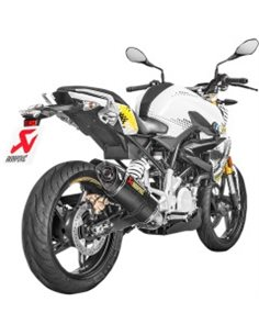 Escape BMW G 310 R/GS 2017-2019 Akrapovic Racing Line Carbono S-B3R1-RC/1