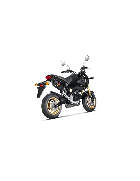 Escape Honda MSX 125 2013-2015 Akrapovic Slip-On Line Carbono S-H125SO1-HAPC