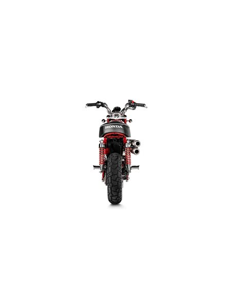 Escape Honda Monkey 2019 Slip-On Line Titanio S-H125SO3-FFSS