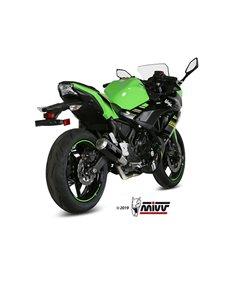 Escape Kawasaki Ninja 650 2017-2019 Mivv MK3 Carbono K.045.LM3B