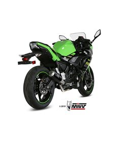 Escape Kawasaki Ninja 650 2017-2019 Mivv MK3 Acero Inox K.044.SM3X