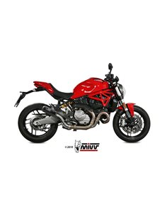Escape Ducati Monster 821/1200 2017-2019 Mivv MK3 Carbono D.041.SM3C