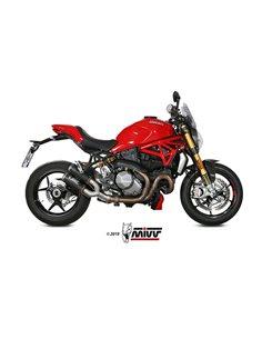 Escape Ducati Monster 1200 2017-2019 Mivv MK3 Carbono D.042.SM3C
