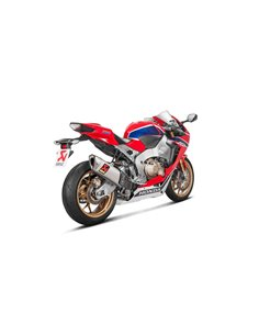 Escape Honda CBR1000RR 2017-2019 Akrapovic Slip-On Line Titanio S-H10SO17-HAPXLT