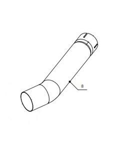 Conector tubo Mivv Suonno 9773Y013S2 Yamaha YZF 600 R6 2003-2005