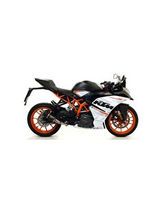 Escape KTM RC 125 2017-2019 Arrow GP2 Dark 71534GPI