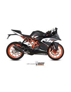 Escape KTM RC 125 2014-2016 Mivv Suono Inox Negro KT.016.L9