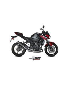 Escape Kawasaki Z400 2019 Mivv GP Pro Inox Negro K.047.LXBP