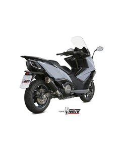 Escape Kymco AK 550 2017-2019 Mivv GP Pro Inox Negro O.008.LXBP