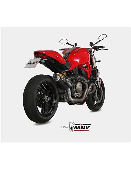 Escape Ducati Monster 1200 2014-2016 Mivv GP Pro Carbono D.030.L2P