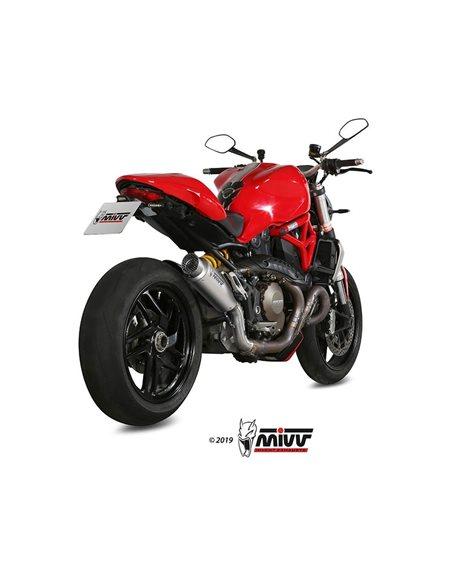 Escape Ducati Monster 1200 2014-2016 Mivv GP Pro Titanio D.030.L6P