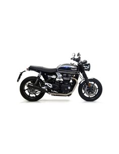 Escape Triumph Speed Twin 2019-2020 Arrow Pro-Racing Nichrom Dark 71851PRN