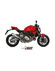 Escape Ducati Monster 821 2018-2019 1200 2017-2019 Mivv Delta Race Acero Inox