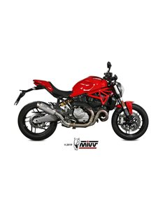 Escape Ducati Monster 821 2018-2019 1200 2017-2019 Mivv GP Pro Titanio D.041.L6P