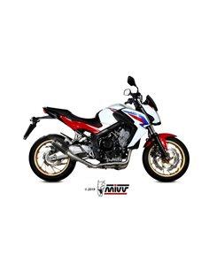Escape completo Honda CB650F 2014-2018 Mivv H.055.SM3C MK3 Carbono