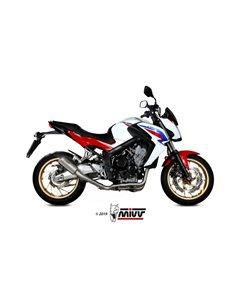 Escape completo Honda CB650F 2014-2018 Mivv H.055.SM3X MK3 Acero inox