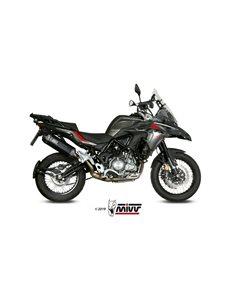 Escape Benelli TRK 502 X 2018-2019 Mivv Speed Edge Acero Inox Negro E.004.LRB