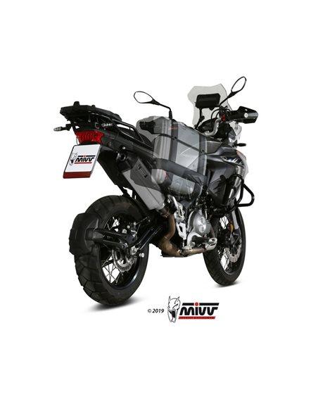 Escape Benelli TRK 502 X 2018-2019 Mivv Speed Edge Acero Inox E.004.LRX