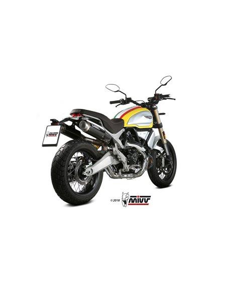 Escape Ducati Scrambler 1100 2018-2019 Mivv GP Pro Carbono D.038.L2P