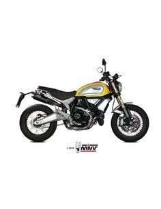 Escape Ducati Scrambler 1100 2018-2019 Mivv GP Pro Acero Inox Negro D.038.LXBP