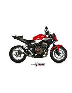 Escape Honda CB500F 2019 Mivv MK3 Acero Inox H.075.SM3X