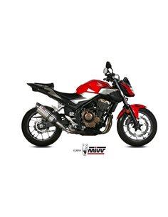 Escape Honda CB500F 2019 Mivv Suono Acero Inox H.075.L7