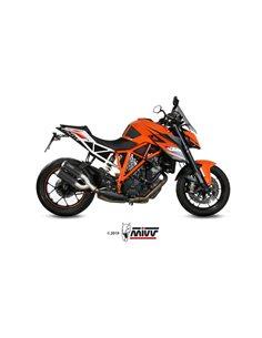 Escape KTM 1290 Superduke 2014-2019 Mivv MK3 Carbono 2 Salidas KT.022.LM3C